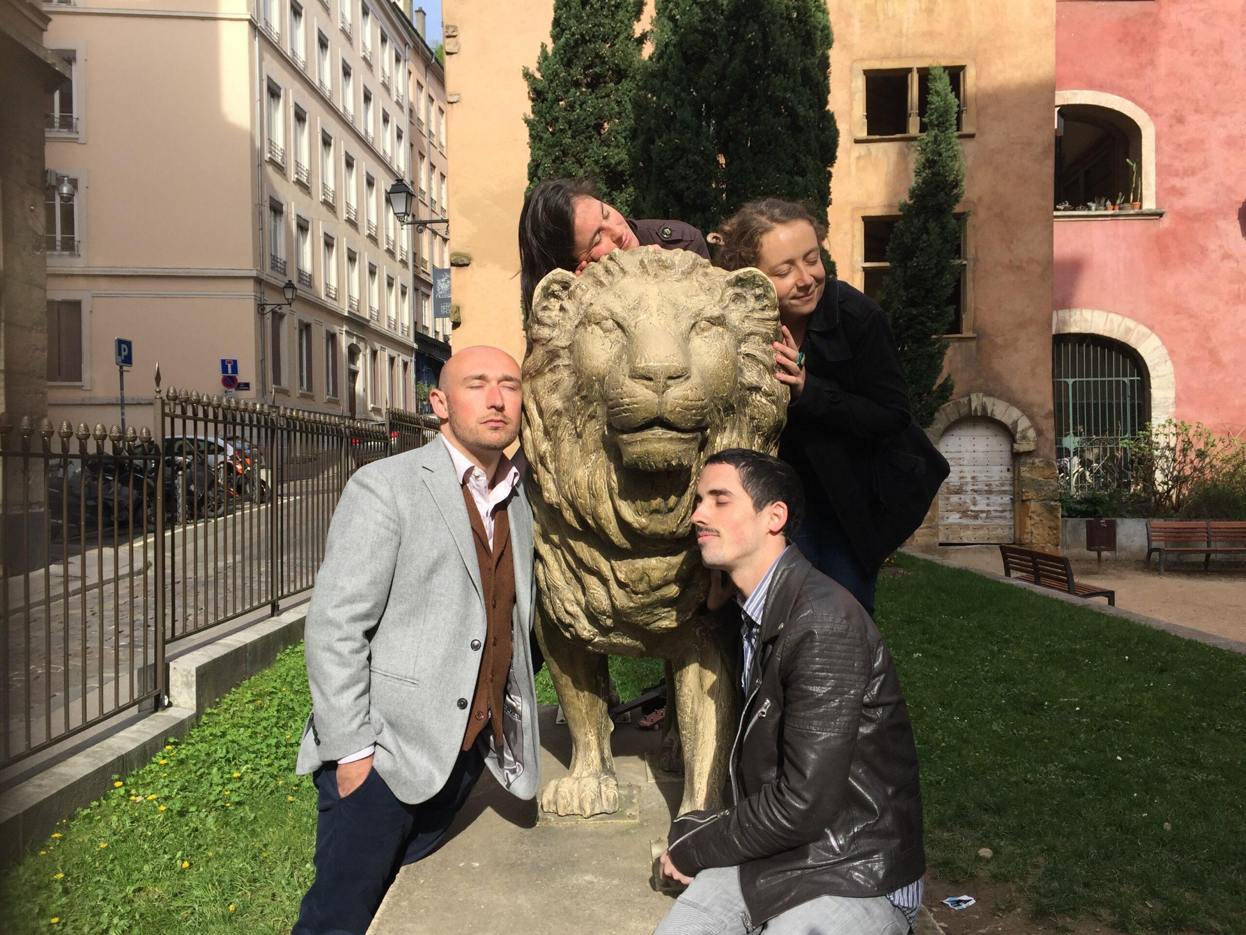 Alphonse Et Le Lion Spaghetti